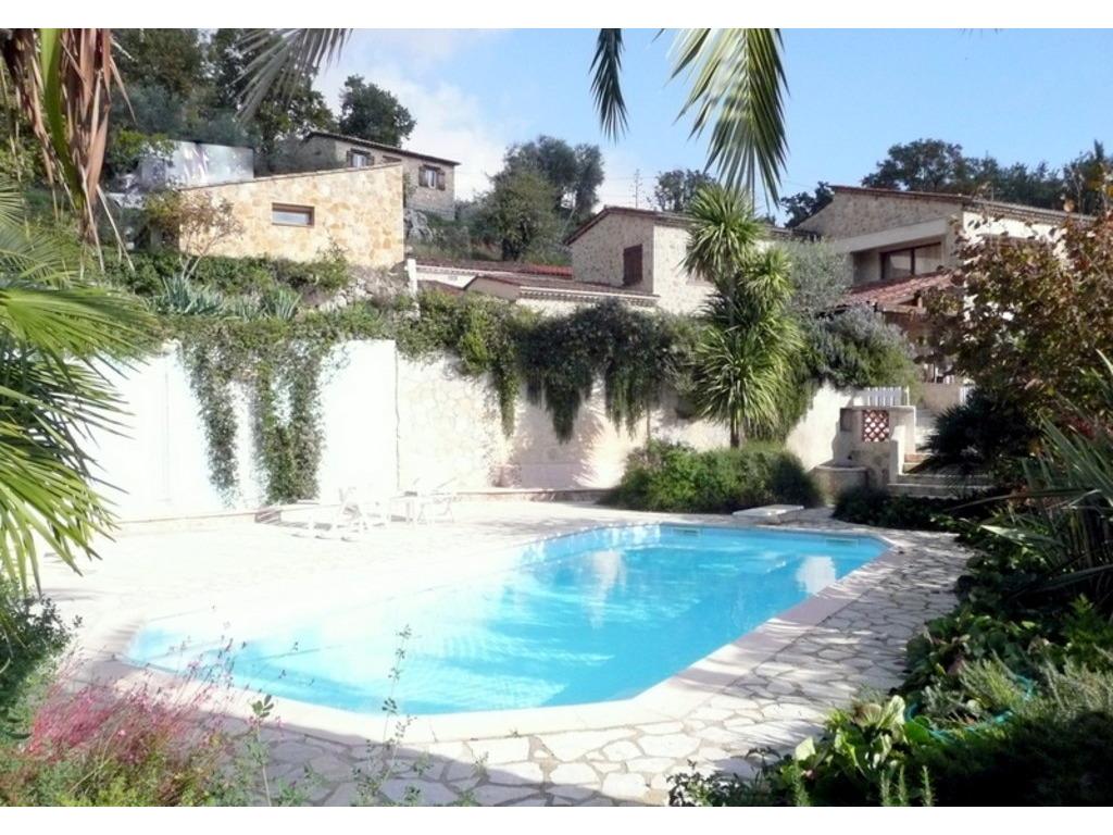 Location maison ind pendante 8 personnes le tignet for Location maison de vacances avec piscine privee